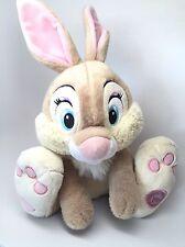 Disney Store MISS BUNNY Plush Stuffed BAMBI Thumper's Girlfriend Rabbit