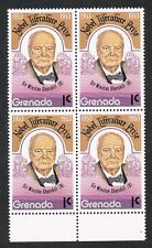 Grenada 1978.  Winston Churchill/Nobel/Block of 4. MNH.