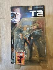MCFARLANE MOVIE MANIACS SERIES 4 T2 TERMINATOR 2 JUDGEMENT DAY T-1000 Case Fresh