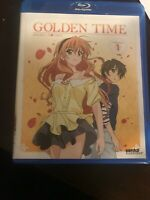 Golden Time: Collection 1~anime collection~episodes 1-12~college~love triangle