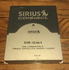 Sirius Connect SIR-GM1 GM Compatible Sirius Satellite Radio Tuner