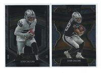 JOSH JACOBS (2)  2019 Select  CONCOURSE + ROOKIE SELECTIONS  RC lot  Raiders
