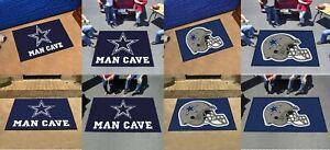 Dallas Cowboys Man Cave Rug All Star Utlity Starter Tailgater NFL FANMATS