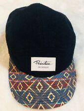New Era Primitive On The Blvd Cap Hat One Size Adjustable Black Wool Graphic Art