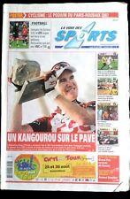 La voix des sports 16/04/2007; Stuart O'Grady remporte Le Paris-Roubaix