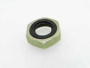 5 X Top Gear Nut With Seal Fit For Royal Enfield Bullet 350 & 500 CC Motorbikes