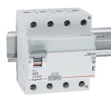 Legrand FI-Schutzschalter Fehlerstrom 4polig 40A 0,03A FI-Schalter Absicherung