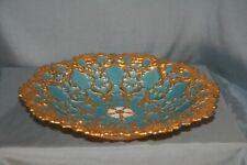 plat ancien rococo porcelaine de Meissen