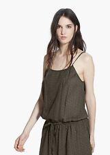 Woman embroidered detail  dress, size L UK 12 new mango RRP 40£