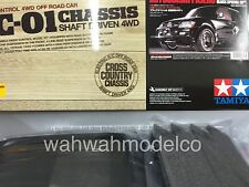 Tamiya 58627 1/10 RC Mitsubishi Pajero Black Sp. - CC01 Black Painted Body