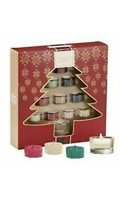 Yankee Candle Christmas 10 Tea Lights & 1 Holder Gift Set FREE Delivery Advent