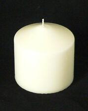 20 Pillar Ivory Wax 8x8cm Candle wedding restaurant event venue function BULK
