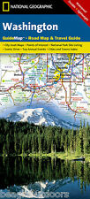 National Geographic GuideMap Washington Road Map & Travel Guide GM01020481