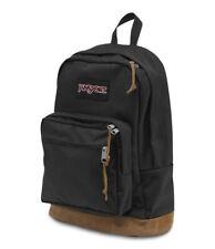 Jansport Backpack Right Pack BLACK 31L Luggage Skate School Travel Bag