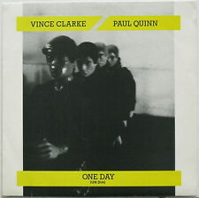 "VINCE CLARKE/PAUL QUINN Un Dia (One Day) 1985 SPAIN 7"" + PS 45 DEPECHE MODE"