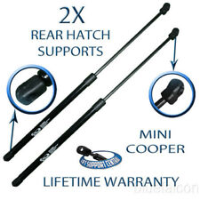 Two Rear Door Hatch Tailgate Lift Supports For 02 03 04 05 06 07-14 Mini Cooper