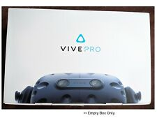 HTC Vive PRO Retail Packaging EMPTY BOX LARGE Genuine original Virtual reality