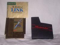 Zelda II 2 The Adventure Of Link NES Gold Cart Nintendo Cleaned Tested Guarantee