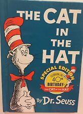 Dr. Seuss The Cat In The Hat Special 40th Birthday Edition 1997 Hardcover