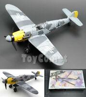 Gray Messerschmitt BF-109 German WWII Fighter Aircraft 1/48 Plane Model Kit