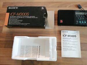 Sony ICF-M300S 3 Band PLL  SYNTHESIZED RECEIVER MIT OVP UND BEDIENUNGSANLEITUNG