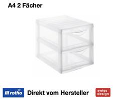 Rotho Schubladenbox A4 2 Schübe Orgamix (1421900096)
