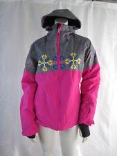Halti Womens 2013 Kalsu Snowboard Ski Drymax X Jacket Coat Parka Pink Gray 6 NWT