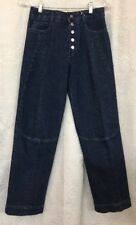 Stella Mccartney Jeans Dark Wash Snap Up Front Size 25 Nwt