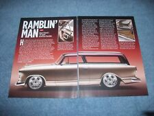 "1959 Rambler American 2-Door Station Wagon Custom Article ""Ramblin' Man"""
