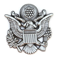 United States Eagle US Military emblem lapel hat pin metal tactical ar-15 molon