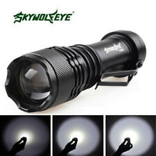 Zoomable Focus 20000LM T6 3-Mode LED Flashlight Torch Lamp Super Bright AA/14500