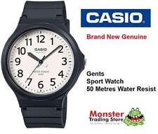 CASIO SPORTS WATCH WATER RESISTANT MW-240-7BVD 12 MONTH WARRANTY