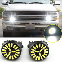 2pcs 3157 LED Bulbs 4014 SMD DRL Driving Daytime Running Light Lamp 6000K White