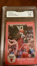 1984-85 Star Michael Jordan #101 RC GMA GRADED GEM MINT 10   Rare Reprint