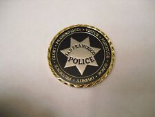 San Francisco Police Department SFPD Challenge Coin