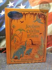 NEW SEALED A Journey to the Center of the Earth by Jules Verne Bonded Leather