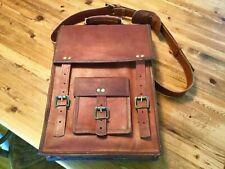 Shoulder Bag Satchel Laptop School Briefcase Leather Vintage Travel Messenger