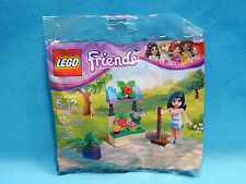 Lego Friends Polybag 30112 Emma's Flower Stand 33pcs New Sealed 2014