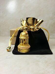 Estee Lauder Bird Cage  Solid Compact Perfume 1998 Pleasures Fragrance