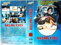 "VHS - FSK 18 - "" Killing EYES "" (1986) - Kimberly Lambert - Tim Gail"