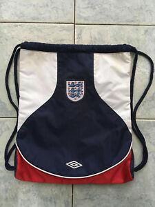 Umbro vintage Drawstring Bag England Football Team
