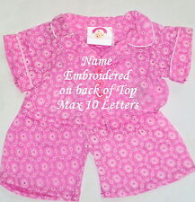 "Teddy Bear Clothes 15""  fits Build a Bear Pink Pyjama's Clothing Outfit"