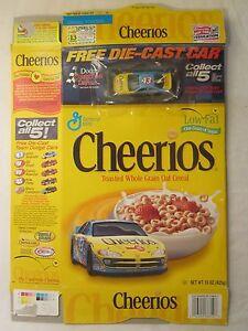 Empty CHEERIOS Cereal Box 2000 #43 Car RICHARD PETTY 15 oz