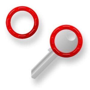 Schlüsselkennringe Kennringe RUND aus flexiblem Kunststoff ab 100 Stück Neu