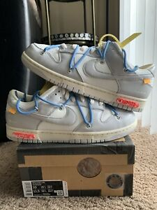 Nike Dunk Low x Off White 'Lot 5 of 50' (DM1602-113) Size 10