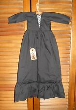 PRIMITIVE WALL DRESS HALLOWEEN BLACK WITCH Folk Art, Grungy, Decor, Cupboard