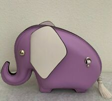 NWT Kate Spade Tiny Elephant Leather Clutch Crossbody Bag PXRUB056 ~ Limited ED!