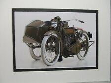 Vintage Side Car 358 Official 1918 Harley Davidson Sidecar US Patent Art Print