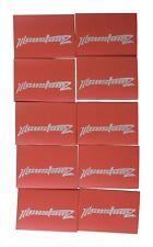 """50 Pack Oversized 1/0 AWG 0 Gauge 3/4"""" Diameter Heat Shrinks RED"""