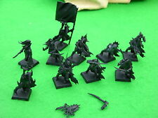 WARHAMMER  DARK ELF, BLACK ARK CORSAIRS x10, UNDERCOATED